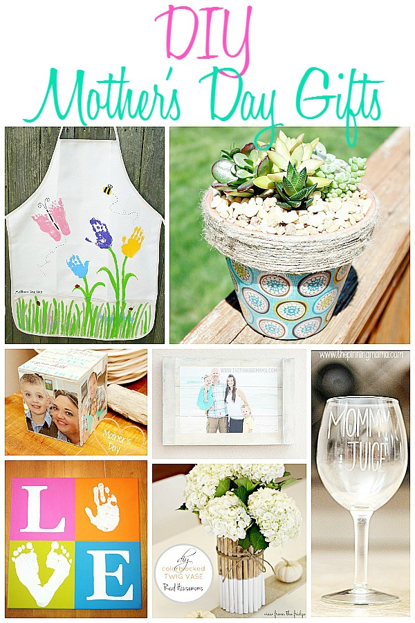 DIY Mother's Day DIY Gift Ideas - Home. Made. Interest.