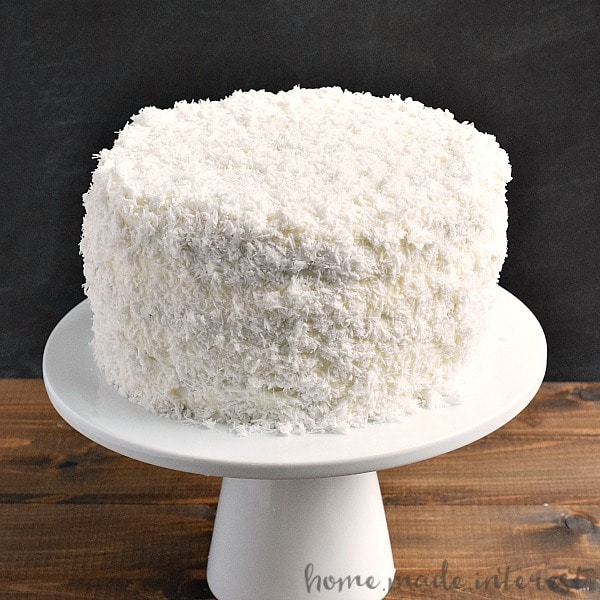 The Best Coconut Cake You\'ll Ever Make - Home. Made. Interest.