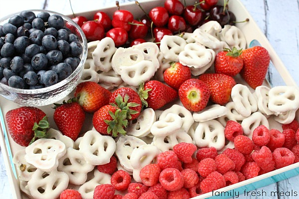 Red white and blue food crafts home made interest for July 4th food ideas