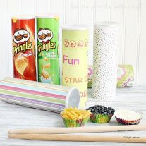The kids are going to love this music sensory activity using common kitchen items and Pringles® cans.