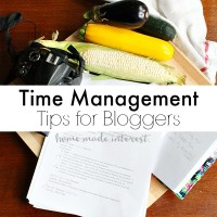 We've got time management tips for bloggers. Our advice for working smarter not harder.