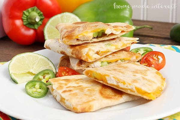 Chicken Quesadillas Home Made Interest