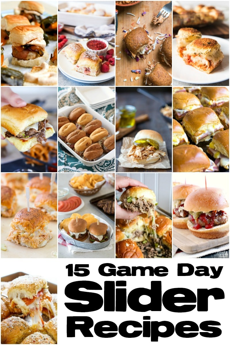 Game Day Sliders recipes