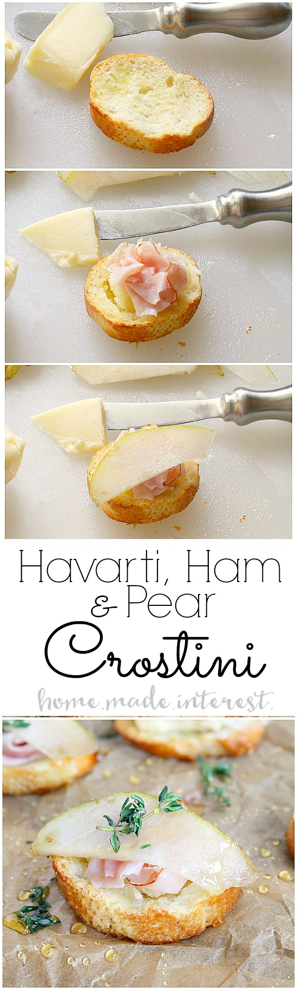 This Simple Flavor Combination Makes A Delicious Appetizer Recipe Havarti Cheese Ham And