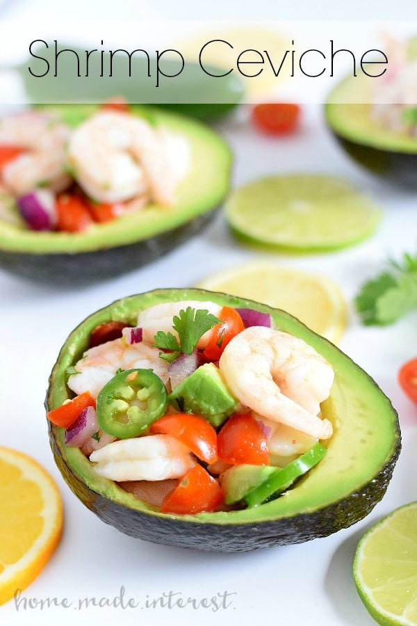Shrimp Ceviche Home Made Interest