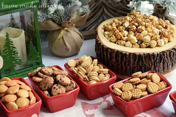 "This Moose Munch Holiday Party is such a fun theme for a holiday party where kids and adults can have a good time. Make your own Moose munch and load up your chocolate ""moose"" then dig in! We've even got a few moose printables to get you started."