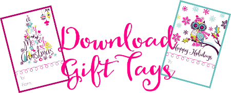 Super cute holiday gift tags free printable home made interest downloadsupercutegifttags i created my gift tags negle Image collections