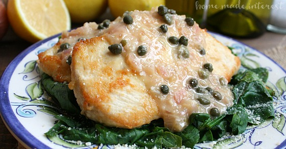 Skinny Chicken Piccata - Home. Made. Interest.