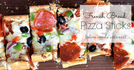 French bread pizza sticks home made interest solutioingenieria Choice Image