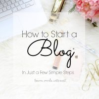 Tips on how to start a blog, including instructions on setting up hosting and buying a domain name. You can make money blogging and in this series we'll also share how to monetize your blog using ad networks, sponsored posts, and affiliate links.