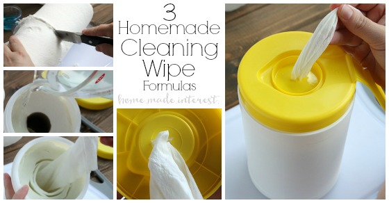 Three homemade cleaning wipes recipes home made interest solutioingenieria Image collections