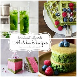 What to make with matcha powder besides green tea? Matcha powder is much more then green tea! Matcha powder has many health benefits and can be made into several delicious recipes.