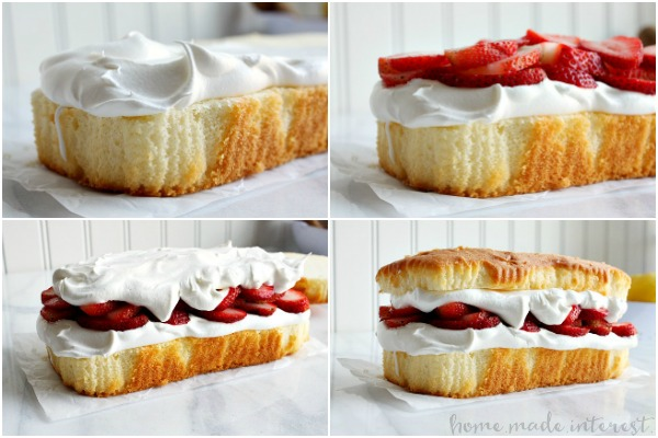 Strawberries and pound cake recipes
