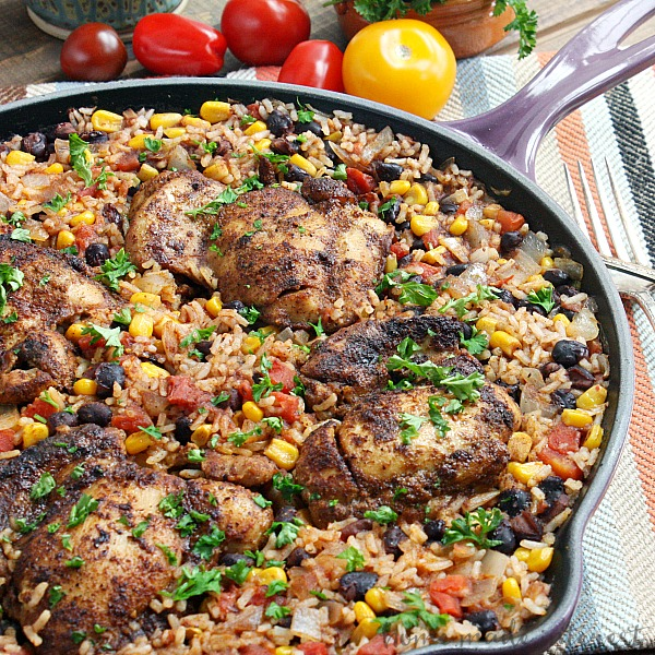 recipe: mexican chicken and rice recipes easy [14]