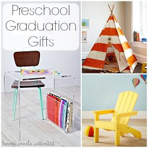 These preschool graduation gift ideas for grandparents for kids are fun and cute! Kids furniture  sc 1 st  Home. Made. Interest. & Preschool Graduation Gift Ideas from Grandparents - Home. Made ...
