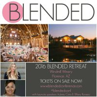 Join us at the 2016 Blended conference in Florence, AZ from September 15-16th. It is a blogger conference for all types of blogs and it is a great way to build relationships in the blogging community!
