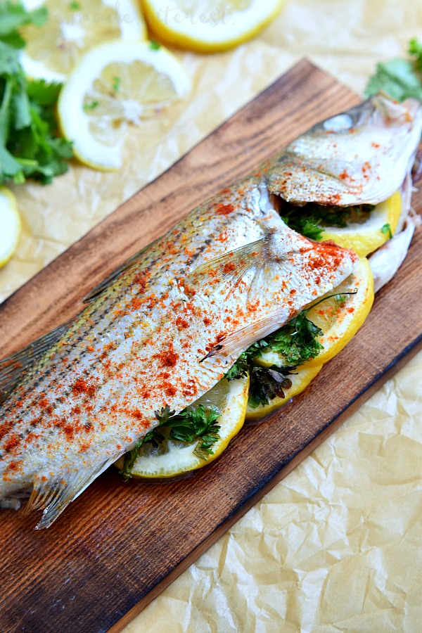 Cedar Plank Grilled Fish Home Made Interest