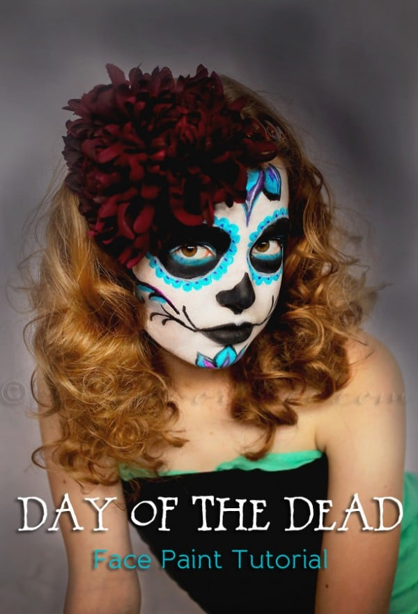 Day of the Dead Face Paint