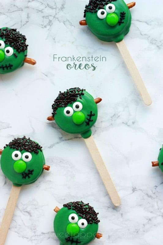 Frankenstein Oreos