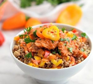 8bcbf13e79ad Sweet and Spicy Salmon Rice Bowl - Home. Made. Interest.