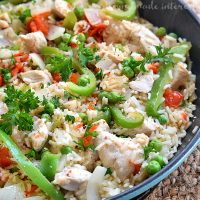 One Pot Turkey and Rice