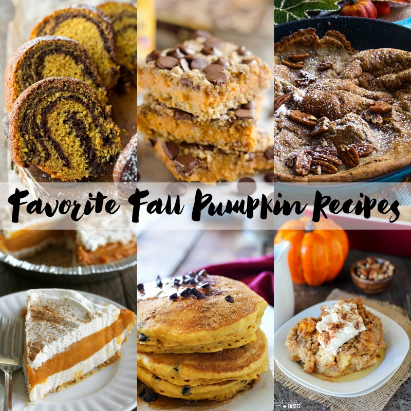 Amazing fall pumpkin recipes that everyone will love. This list of easy and delicious pumpkin recipes is all you need to make it through the fall pumpkin craze!