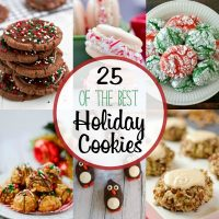 We've got 25 of the Best Holiday Cookie recipes! these easy Christmas cookie recipes are sure to be a hit this holiday season. From peppermint cookie recipe to oreo cookie balls these Christmas cookies are the best!