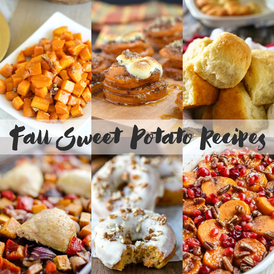 Lots of sweet potato recipes that are perfect as a Thanksgiving side dish or a Christmas side dish.