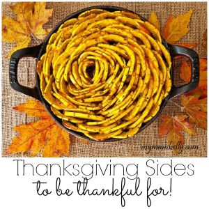 This Thanksgiving serve your family & friends sides they will be thankful for along with their turkey.