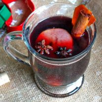 If you're looking for a cocktail for the holidays this Mulled Wine recipe is a an awesome Christmas drink recipe or New Year's Eve drink recipe. Mulled wine is cooked with warm, inviting spices that make the whole house smell like the holidays. It is the perfect holiday drink recipe for holiday entertaining!