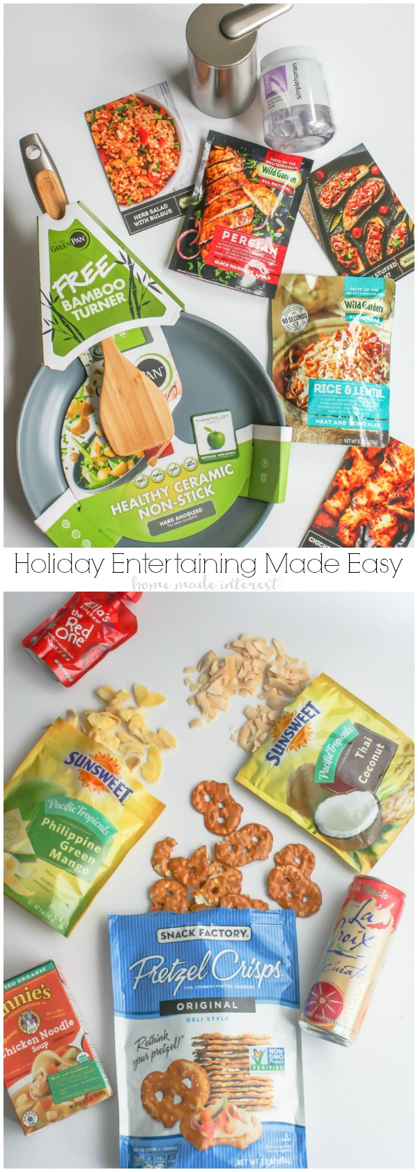 We've got tips and tricks for making your holiday entertaining a little easier. Easy holiday recipes, kid-friendly holiday recipes and products, products that make cooking and clean-up simple , and delicious holiday snack recipes. Make holiday entertaining easy this year and enjoy time with your family and friends!