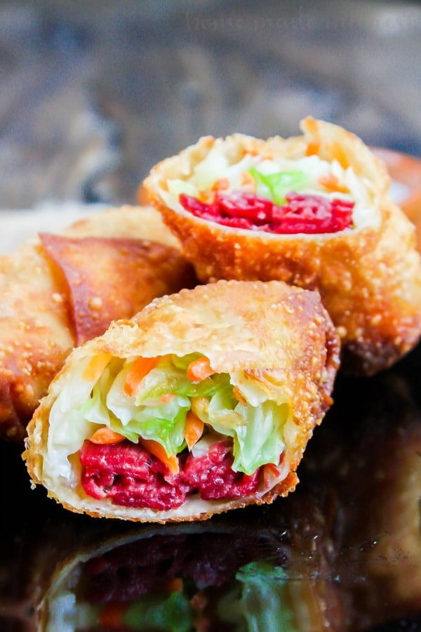 Corned Beef And Cabbage Egg Rolls Corned Beef And Cabbage Is A Classic St