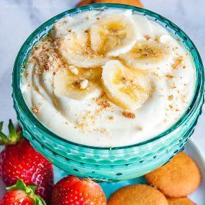 Banana Cream Cheesecake Dip
