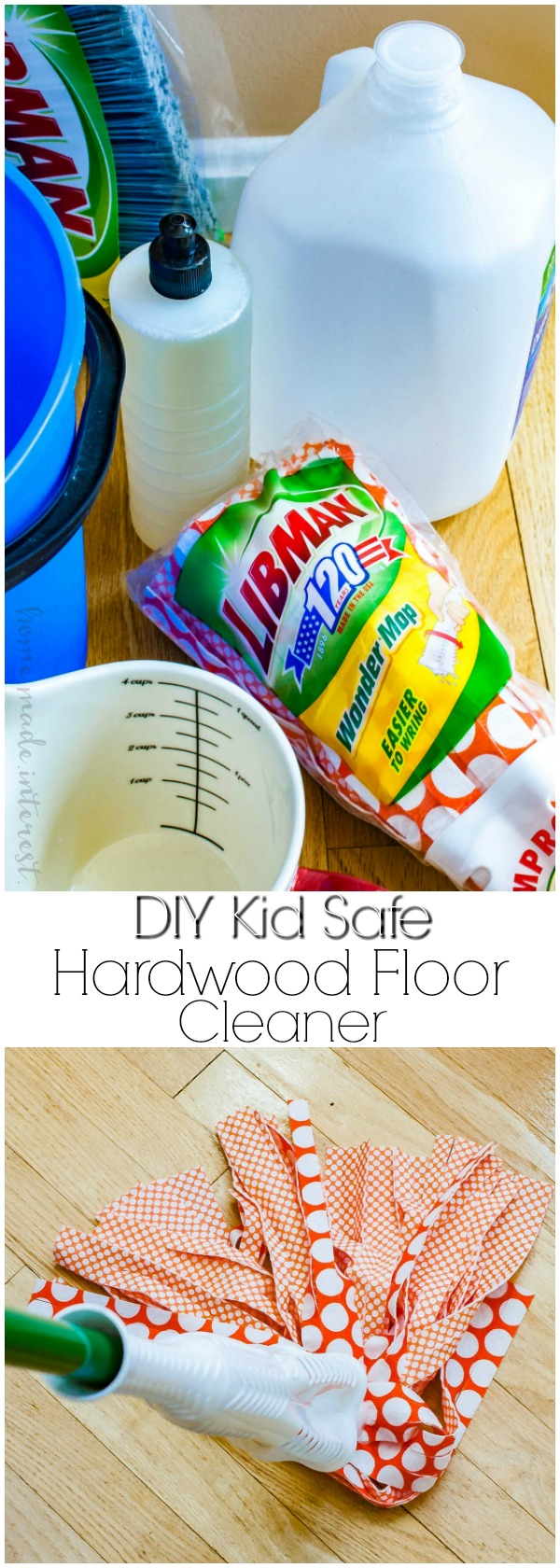 Homemade Wood Floor Cleaner For Spring Cleaning Home