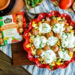 Low Carb Meatball and Vegetables Casserole | If you are eating low carb and are looking for an easy low carb recipe that makes a great low carb dinner this low carb meatball and vegetables casserole is the answer. This low carb casserole is made in under 30 minutes and is chocked full of delicious summer vegetables and low carb meatballs.