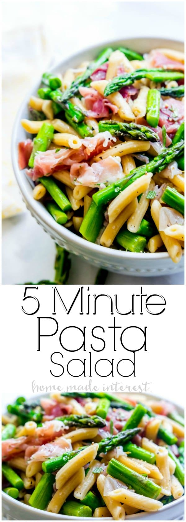 Easy Italian Pasta Salad | This Light And Fresh Pasta Salad Recipe Is Made  With Salty