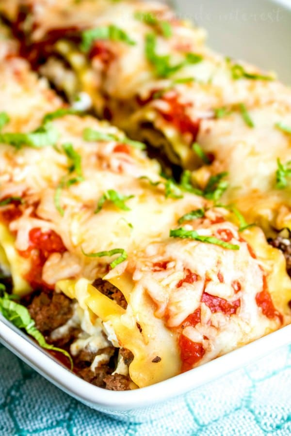 lasagna roll ups with cottage cheese