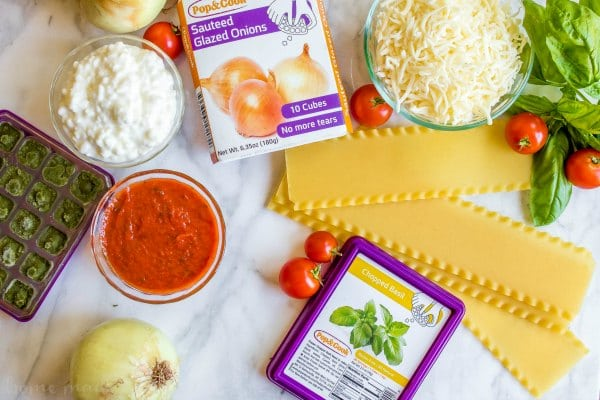 homemade lasagna roll up ingredients