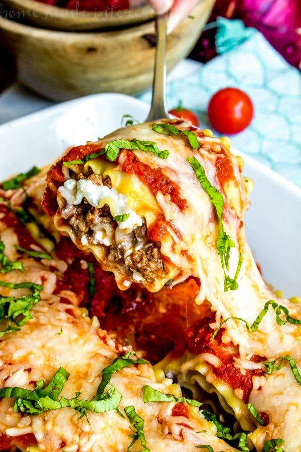lasagna made with cottage cheese