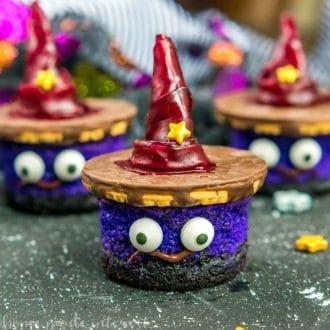 witch's hat dessert