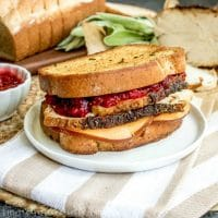 wheat bread turkey grilled cheese sandwich
