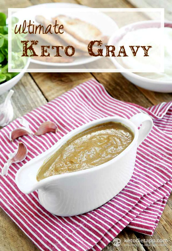 low carb gravy for Thanksgiving
