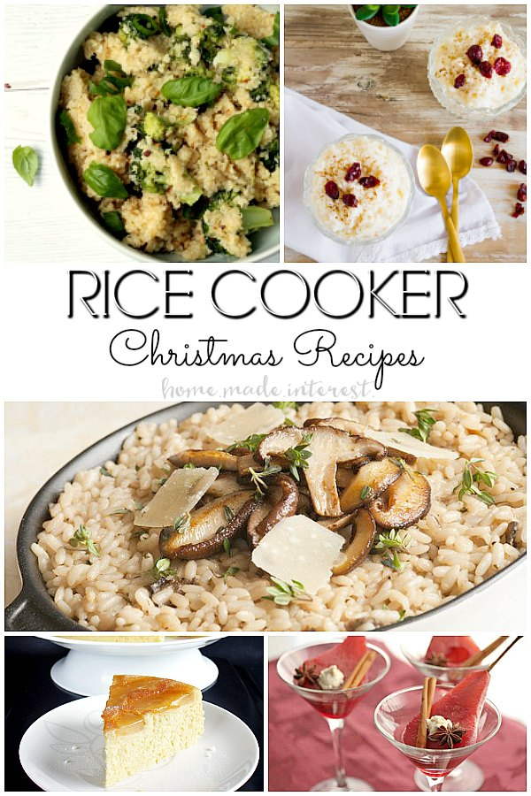 No bake christmas dinner recipes home made interest christmas recipes made in the rice cooker who knew there were so many rice cooker forumfinder