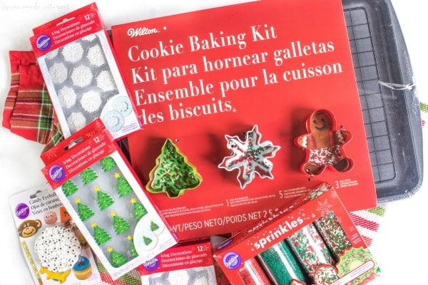 Wilton holiday baking kit and embellishments