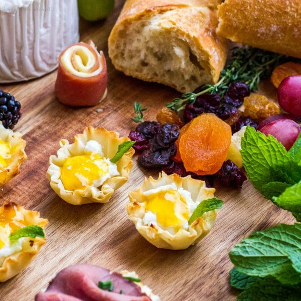 bite size appetizers made with cheese