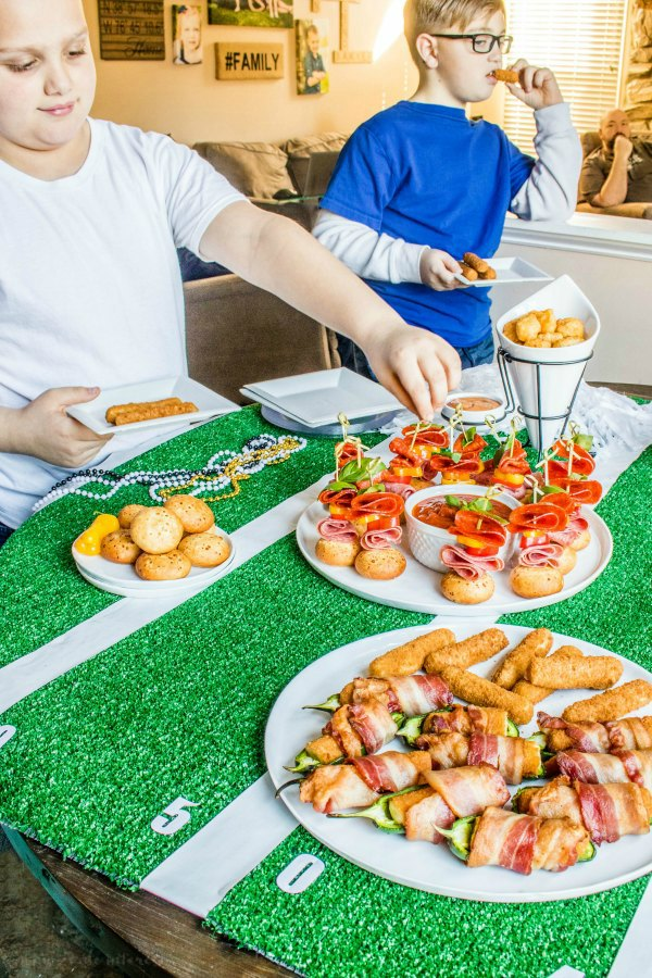 kid appetizers for super bowl party