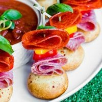 quick and easy pizza skewers appetizers