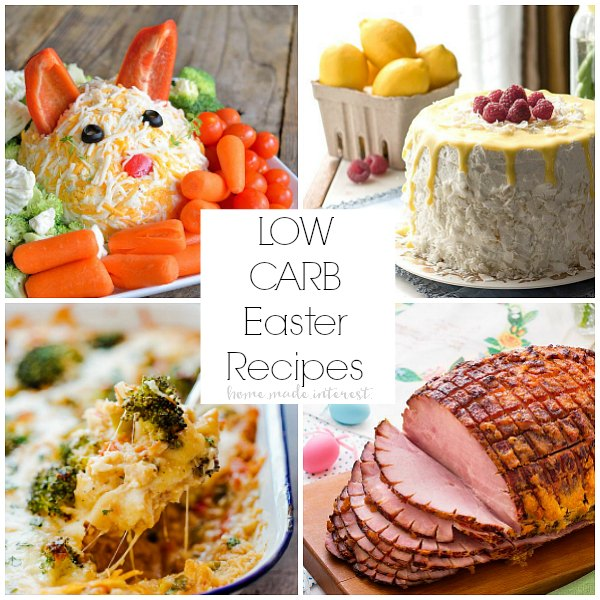Low carb easter recipes home made interest for Easy easter lunch menu