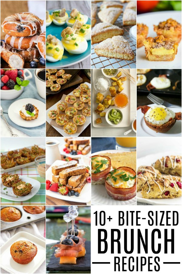 These bite-sized brunch recipes are the perfect breakfast bite for your upcoming brunch!