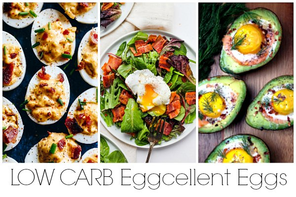 egg recipes for a low carb brunch